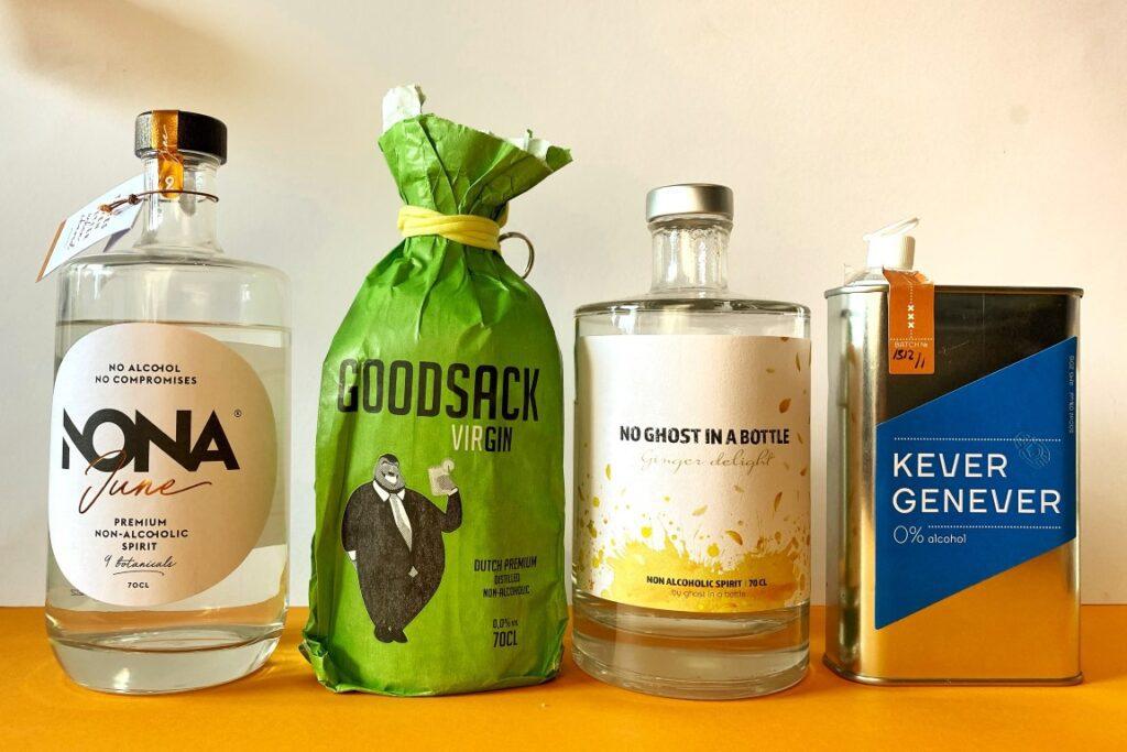Alcoholvrije gin test - top 4