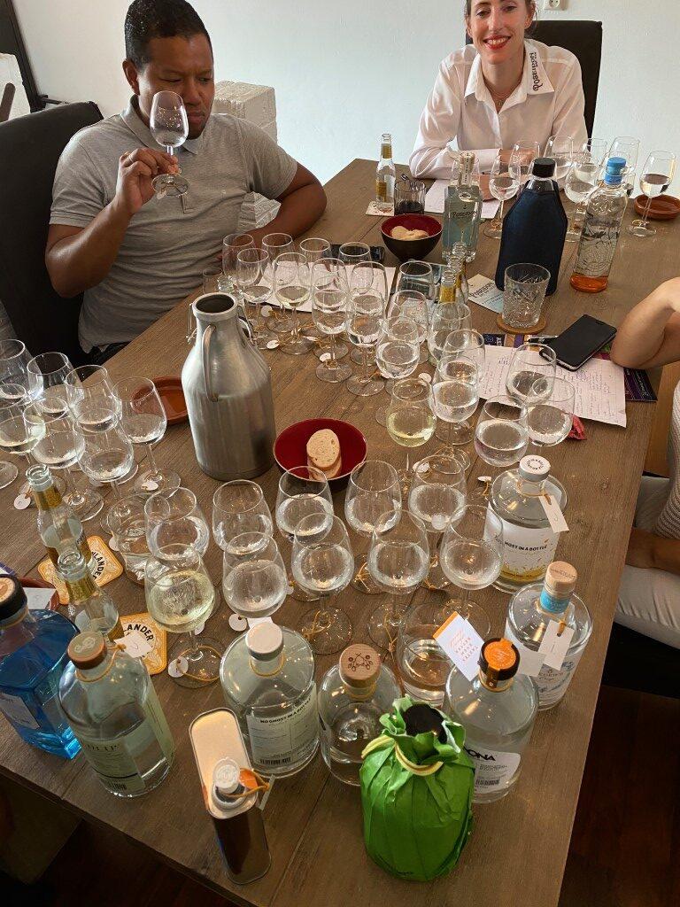 Alcoholvrije gin test