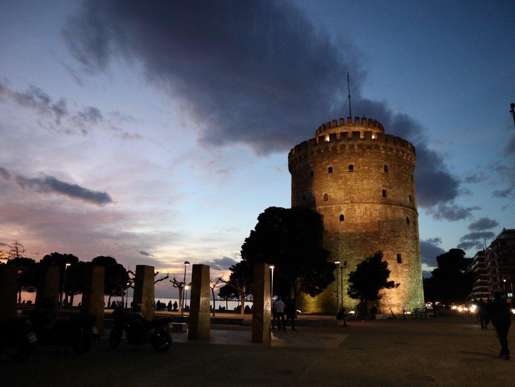 Witte Toren - stedentrip Thessaloniki