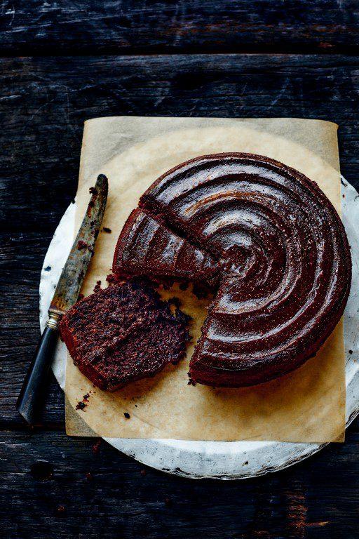 Chocolade FUDGE taart a la Donna Hay