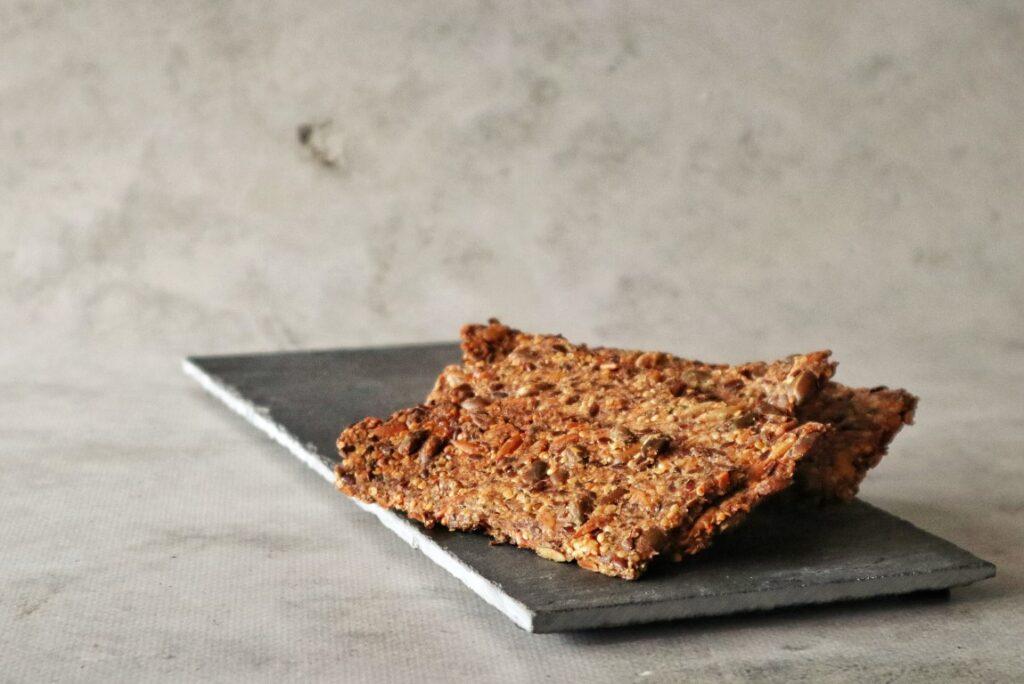 Koolhydraatarm eten - koolhydraatarme crackers
