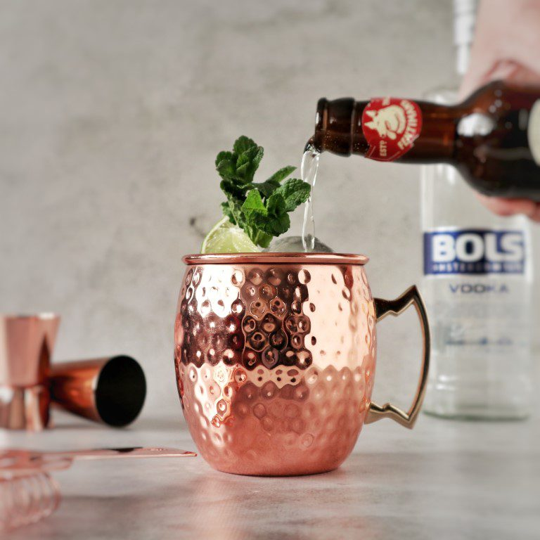 Wodka cocktail: Moscow Mule