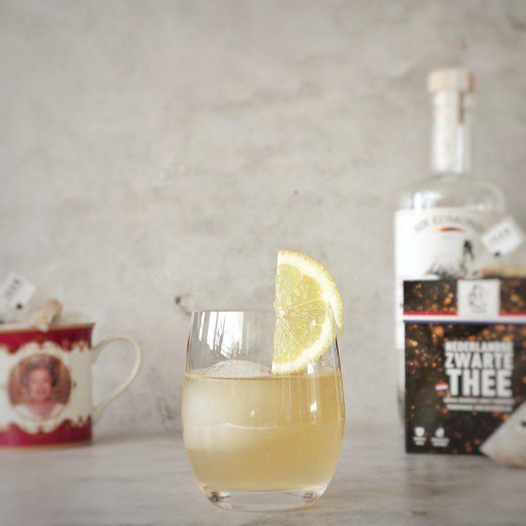 Gin cocktail Royal Tea