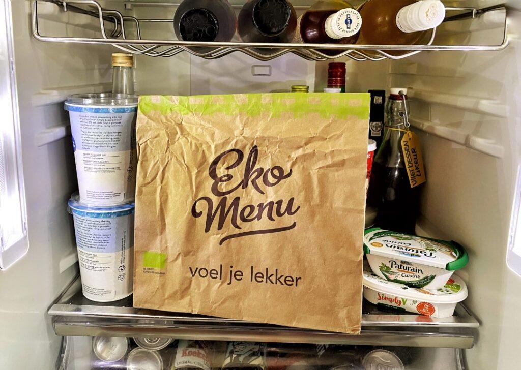 Ekomenu - de biologische maaltijdbox met leefstijlmenu