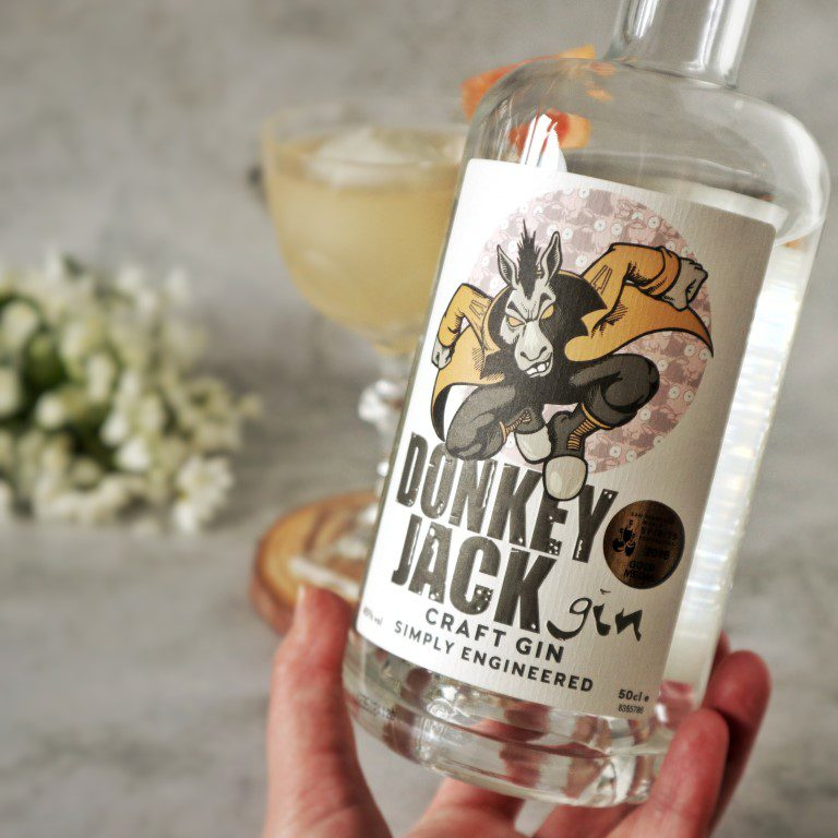 Elderflower Delight - Donkey Jack Craft Gin - Driftwood Distillery