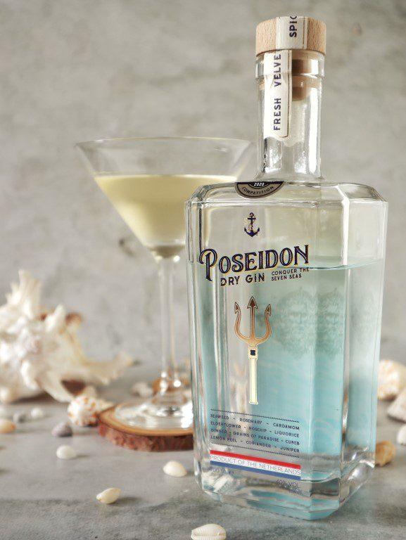 Zomerse cocktails - Poseidon Gin - Gin Blinda