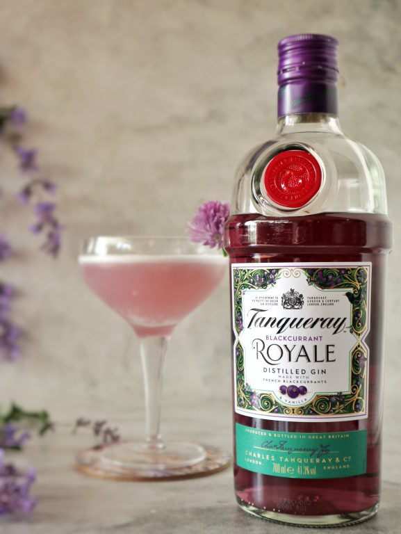 Tanqueray Blackcurrant Royale Gin Sour