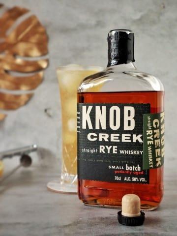 Whiskey Buck - Knob Creek® Rye whiskey