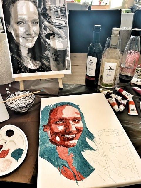 online schilder workshop