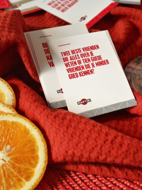 MARTINI Fiero lanceert kaartspel voor Wereld MARTINI dag en International Friendship Day