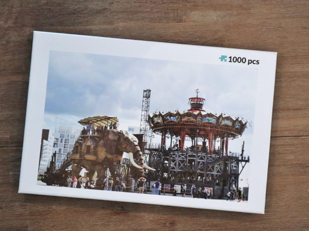Vakantiefoto laten printen op een puzzel