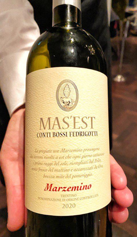 Bossi Fedrigotti Mas'Est Marzemino