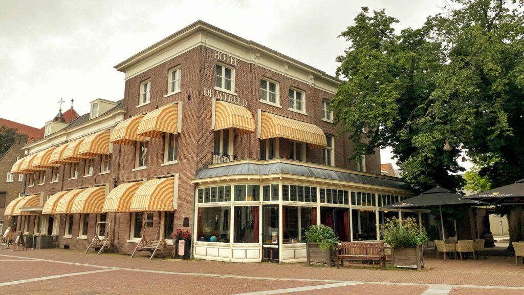 Hotel de Wereld en restaurant LEV.@De Wereld in Wageningen