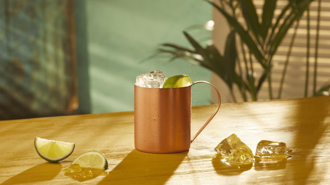Altijd zomer met deze BACARDÍ Spiced cocktails - Spiced Mule