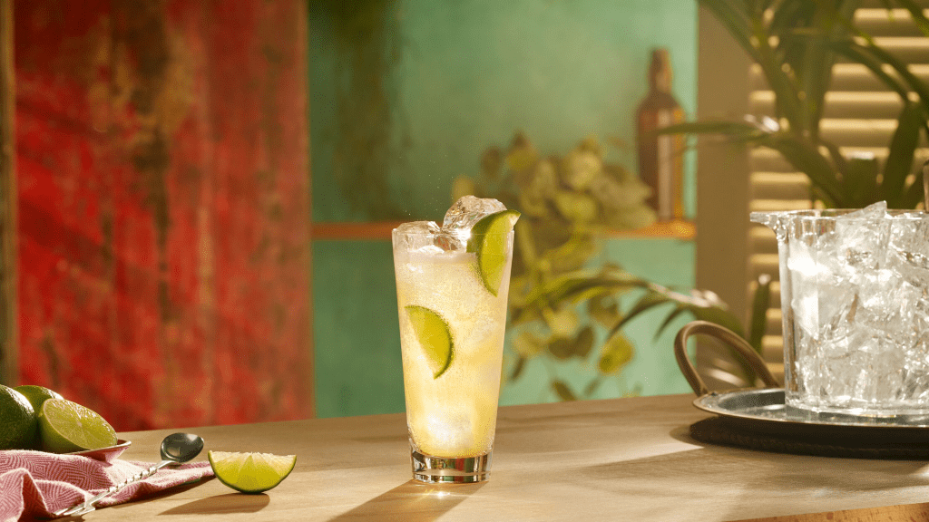 SPICED, APPLE & GEMBER cocktail
