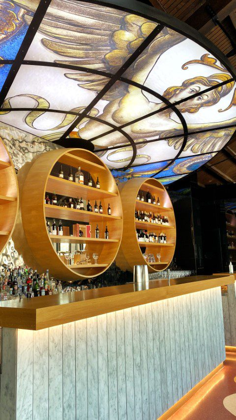 Angels Share bar WOW World of Wine Porto