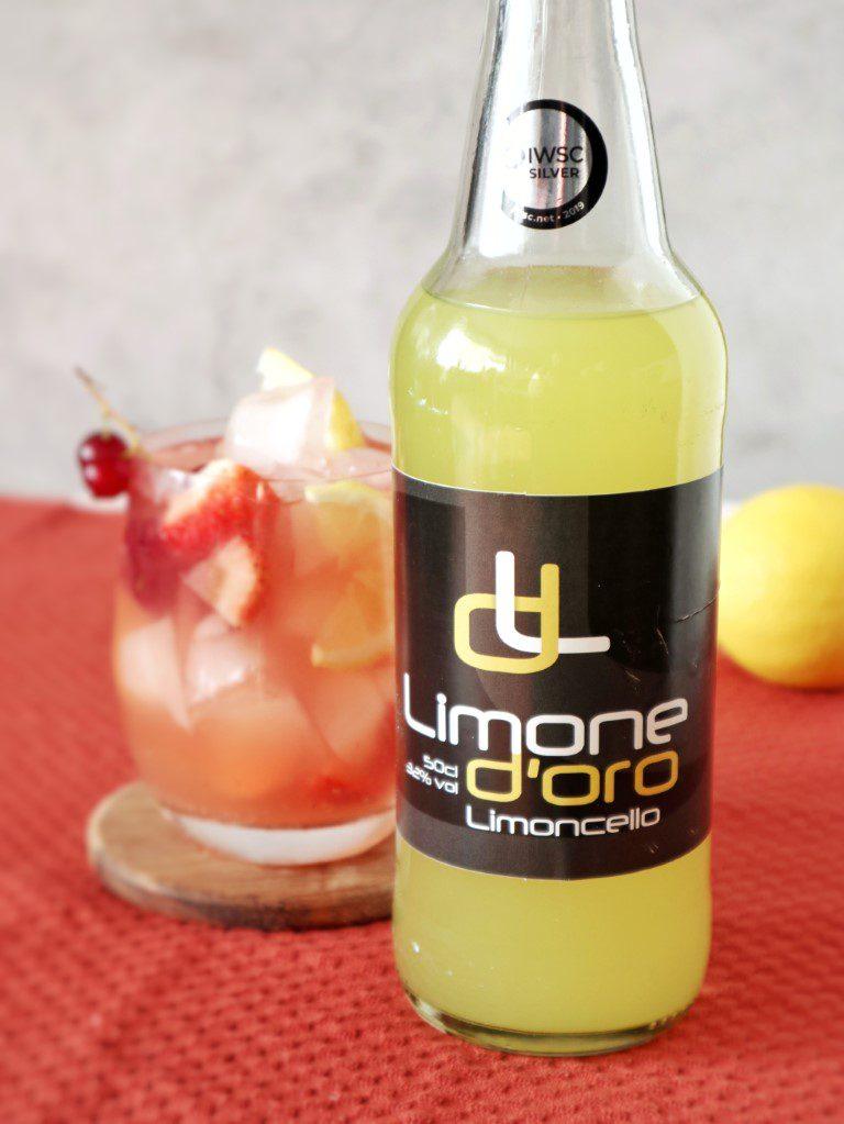 Limoncello Sangria - Limone D'oro Limoncello