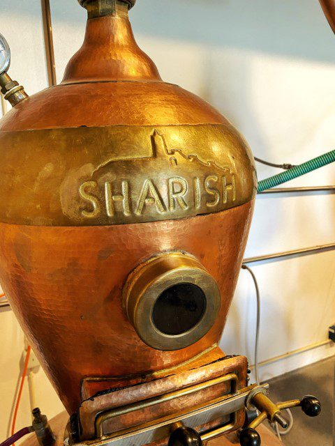 Op bezoek bij Sharish Gin Distillery in Alentejo, Portugal