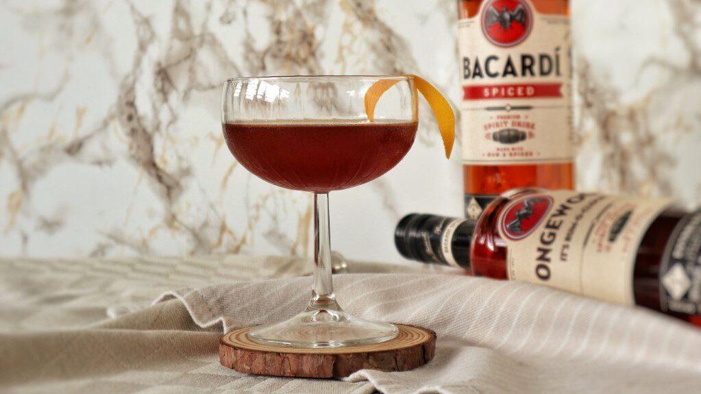 Spiced Presidente cocktail