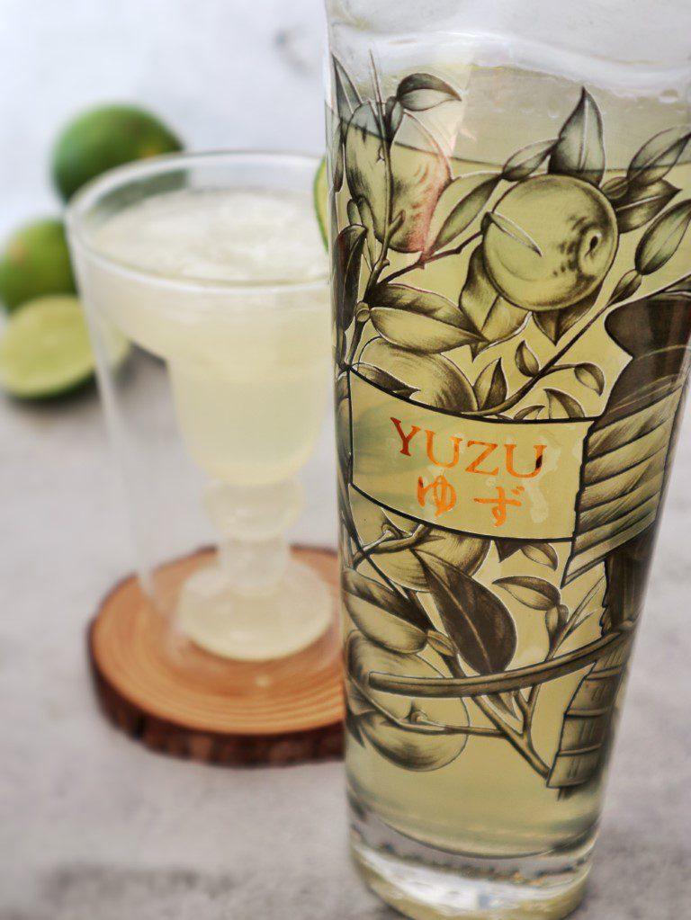 Yuzu Margarita - Pulcinos Yuzu liquor